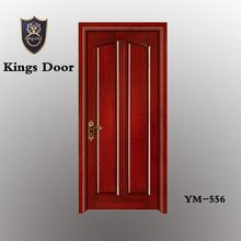 Mahogany morden polished entry solid wood doors