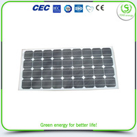 Popular products latest 100w flexible poly silicon solar panel