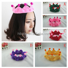 Hand-woven crown adults/children can be customized multicolour Christmas gifts