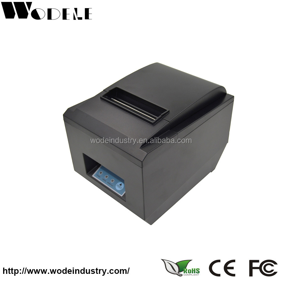 WD-80X Printing High Speed Pos Printer 58mm Thermal Receipt Printer for Supermarket Restaurant Bar New