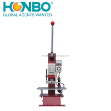 HB-280 rubber brand making leather automatic hot logo stamping ironing machine