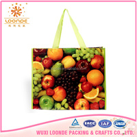 durable and environmental friendly pp flat bag with customized printing