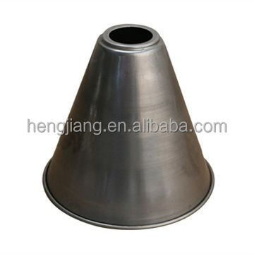 China Customized Professional metal spinning parts, deep draw cone