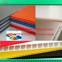 4mm corrugated plastic coroplast sheet/board