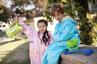 Raincoat poncho,New Design fashion PU children raincoat polyester suit