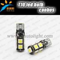 Car T10 5050 smd 9 led 194 168 192 W5W LED Auto light Bulbs Canbus error free t10 led wedge bulb interior light White blue red