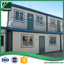 DESUMAN china low cost integrated mobile modular portable temporary prefab housing