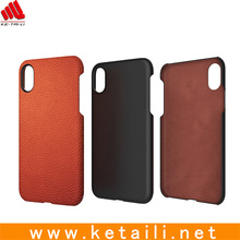 Latest Design PC+TPU+Leather Material phone cover for iphone x