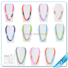 BPA Free Silicone Beads Teething Necklace Wholesale