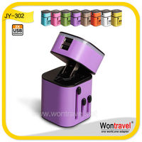 New arrival ac dc travel plug adapter, 3.2A dual USB travel charger for tablet /mobile phone