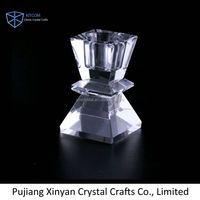 New coming attractive style crystal bead tea light candle holder in many style