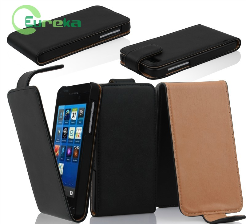 oem newest book style leather phone case for BlackBerry Z10