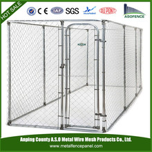 China wholesale portable box kennel / Chain link boxed kennel / furry pal kennel (factory)