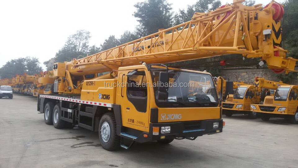 For Hot Sale XCMG 20t Mobile Truck Crane QY20G.5 Truck Mounted Mobile Crane 20 Ton Hydraulic Crane