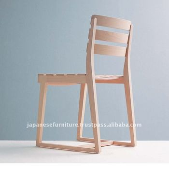 Wood restaurant dining design chair MANDI CHAIR