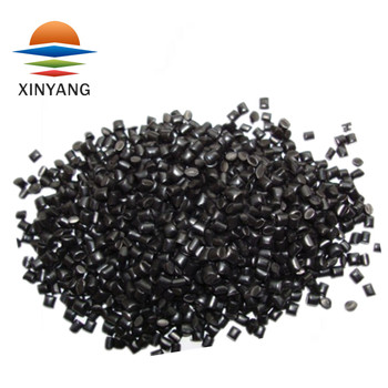 Good dispersibility high strength black masterbatch for pipe