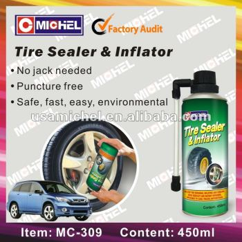 Tire Sealer and Inflator, 450ml Tyre Sealer & Inflator