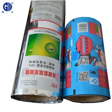 Aluminum foil lamination plastic <strong>roll</strong> stock film for customized food packaging