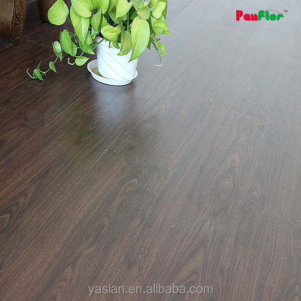 Self adhesive plastic floor covering