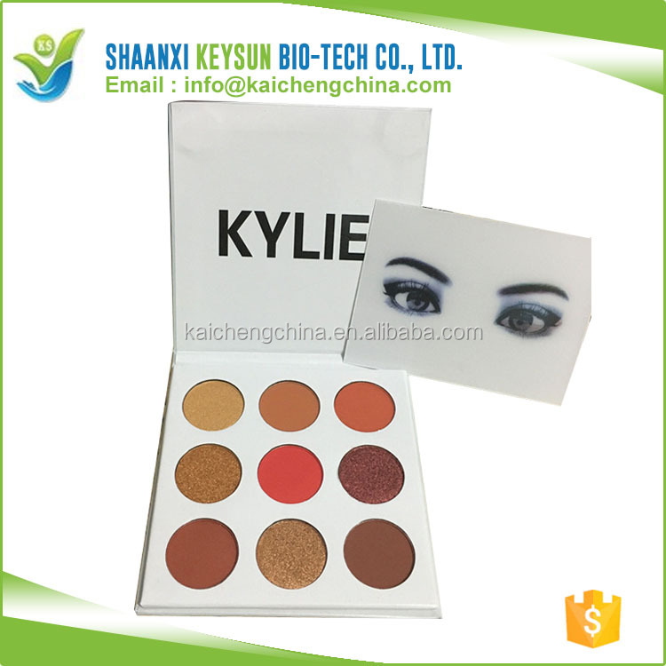 Kylie xoxo 9 Color Eye Shadow Cosmetic matte Cream Color Eyeshadow