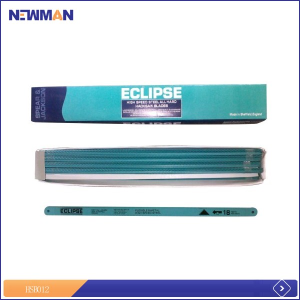 good price stainless steel eclipse hacksaw blades using for cutting steel