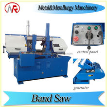 metal cutting capacity hydraulic hand shears band sawing machine manufacturer