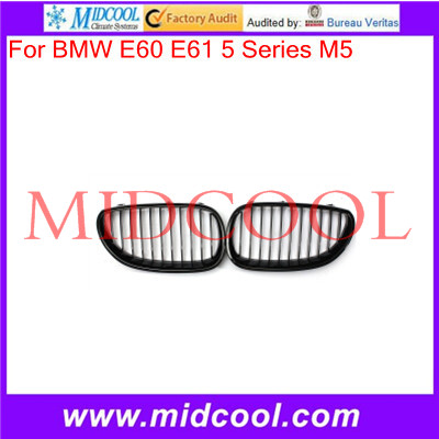 High Quality Gloss Black Front Sport Wide Kidney Grille Grill For BMW E60 E61 5 Series M5 03-10