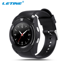 Cheapest Unlocked v8 GSM smart watch mobile phone with touchscreen bluetooth Sim card keyboard MP3 reloj inteligente