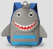 Big Shark Anti-lost backpack Hot Selling Customized Kids back pack Manufacturers China