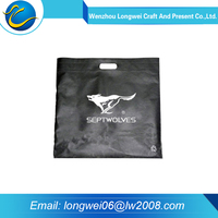 Hot sale eco folded non woven shopping bags