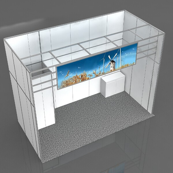 Trade Show Aluminum Backdrop Stand