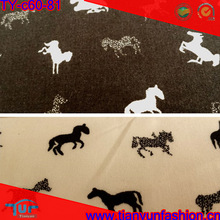 high density 60s organic man shirting 100 horse printing shirt cotton fabric