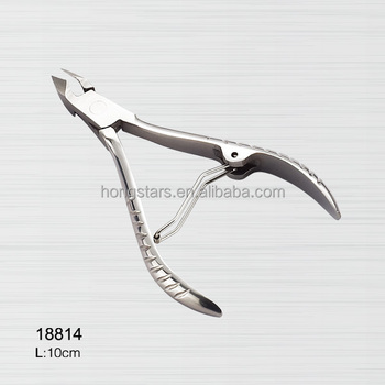 professional stainless steel nail nipper sharpening