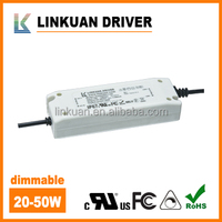 30-50W 1500mA constant current dimmable led driver with UL certificate number E478938 for LED downlight & panel light