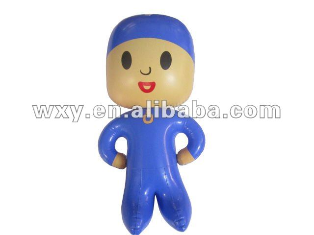 New Fancy pvc toy kids love,Inflatable cartoon print toys