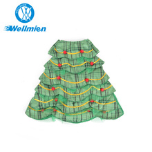 Cute Christmas Tree Shaped Cosplay Dog Cat Pet Costume for Fun Cosplay