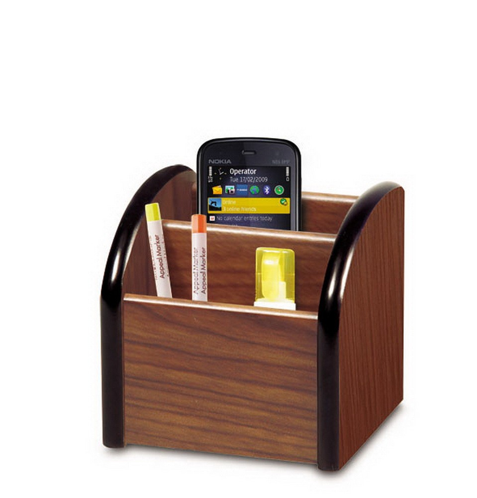 promotion low price office supplies house MDF pen holder