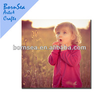 digital picture printing customized photographer canvas wall art