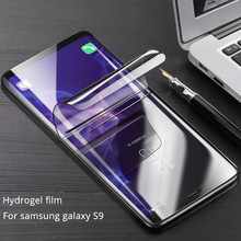 2018 Newest Soft hydrogel Screen film For samsung galaxy S9 plus 3D HD Clear Hydrogel liquid screen Protector For samsung S9