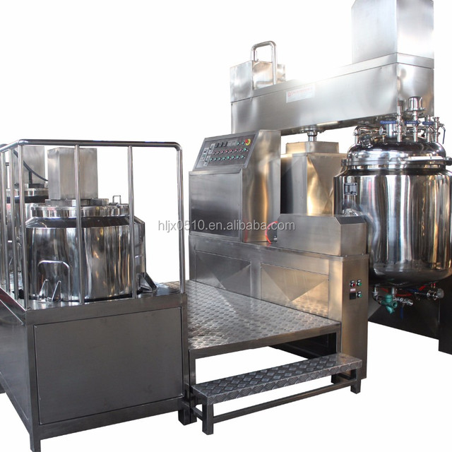 hot sale vacuum cosmetic chemical emulsifying homogenizing blender