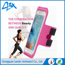 Top quality super slim running sports armband for iPhone SE 5s waterproof case for lg leon c40