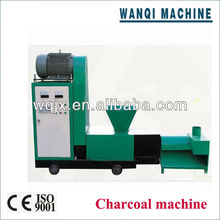 2013 new design Energy saving charcoal briquette machine for BBQ fuel from direct manufacturer Wanqi