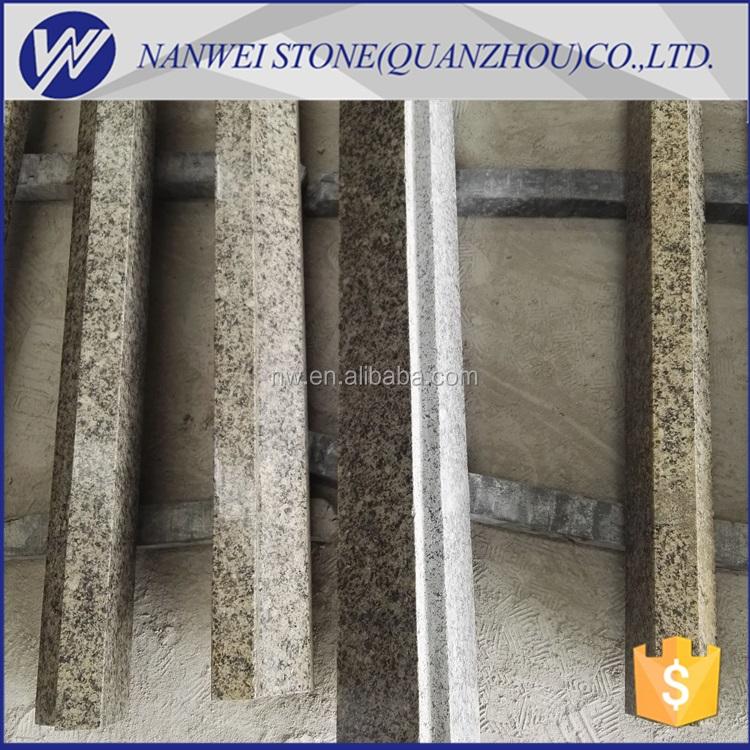 alta calidad brown color de piedra de granito de china feliz madera granito encimera de la