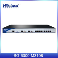 Hillstone 8xGE 2xGE/SFP Hardware Firewall SG-6000-M3108