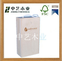 Hot selling gift naturl pine solid customized made-in-china eco-friendly wooden olive oil box