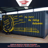 China Steel Structure Prefab Shipping Container Homes for Sale