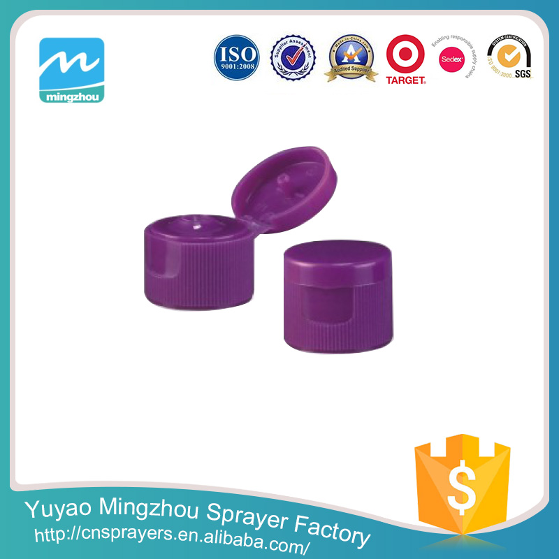 Super Quality Reasonable Price Professional Fashion 28/410 Purple Plastic Bottle With Twist Cap