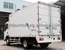 Factory price isuzu new manual elf KV100 mini cargo van trucks diesel light truck for sale with great