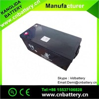 Rechargeable maintenance free battery 12v 220ah, UPS battery manufacturer
