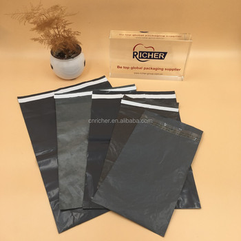 Widely Used Standard Self-Adhesive Grey Color Mail Bag